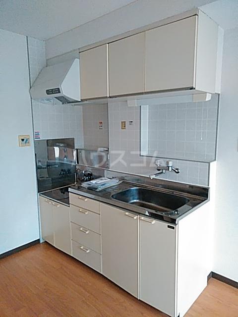 第2藤ハイツ 303号室のキッチン