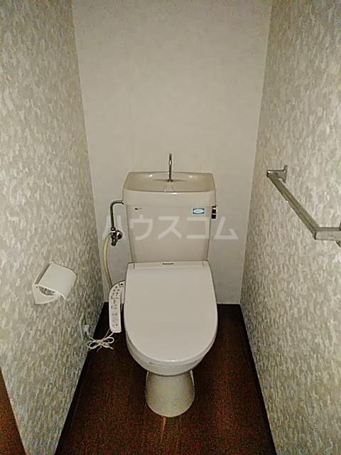 第2藤ハイツ 303号室のトイレ