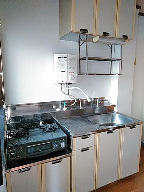 シティハイムコスモス 101号室のキッチン