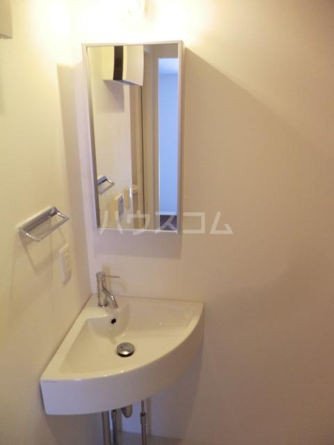 カラスヤマテラスEW 06号室の洗面所