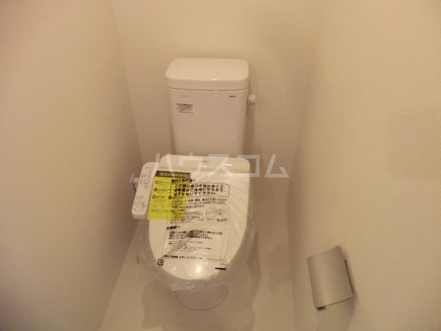 カラスヤマテラスEW 06号室のトイレ