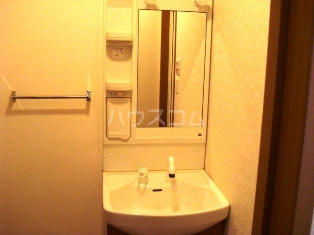 キャトルレーヴ 206号室の洗面所