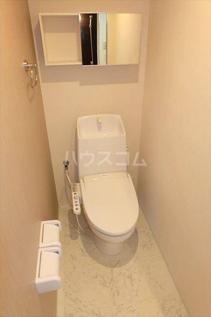 アクトレス 102号室のトイレ