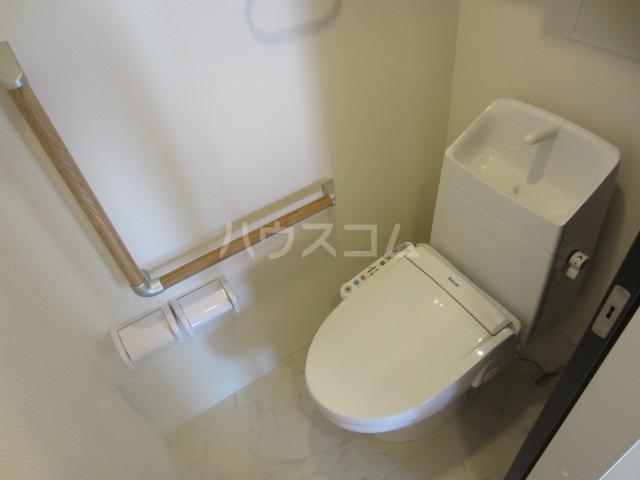 ラウレア OZ 202号室のトイレ