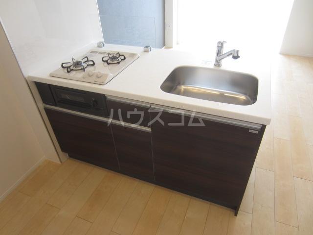 ラウレア OZ 202号室のキッチン