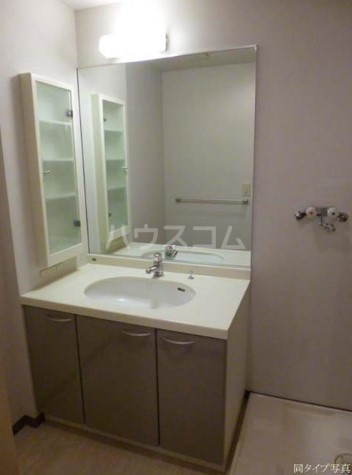 グラスコート野沢 0203号室の洗面所