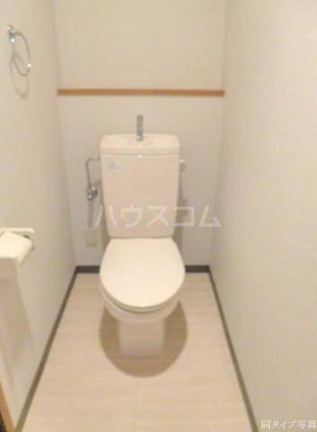 グラスコート野沢 0203号室のトイレ