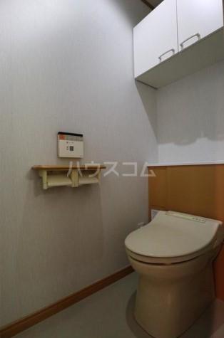 目黒本町5丁目貸家 1階部分のトイレ