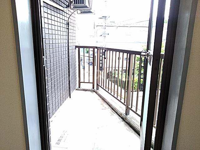 DJK花小金井マンション 203号室のバルコニー