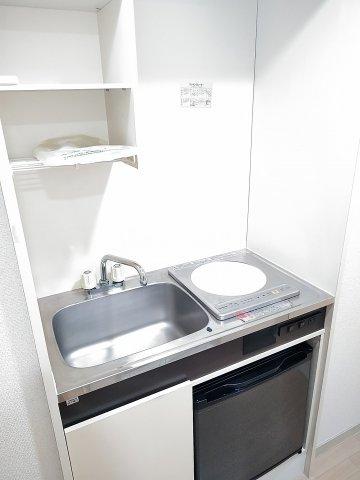 パーク常盤 403号室のキッチン