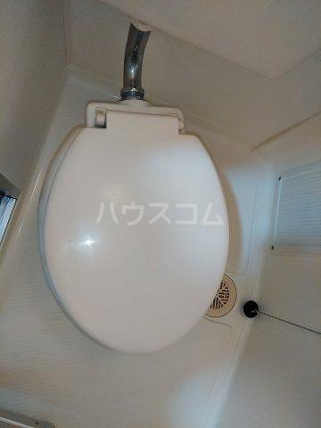パーク常盤 403号室のトイレ