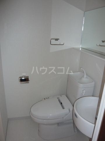 KTテラス 103号室のトイレ