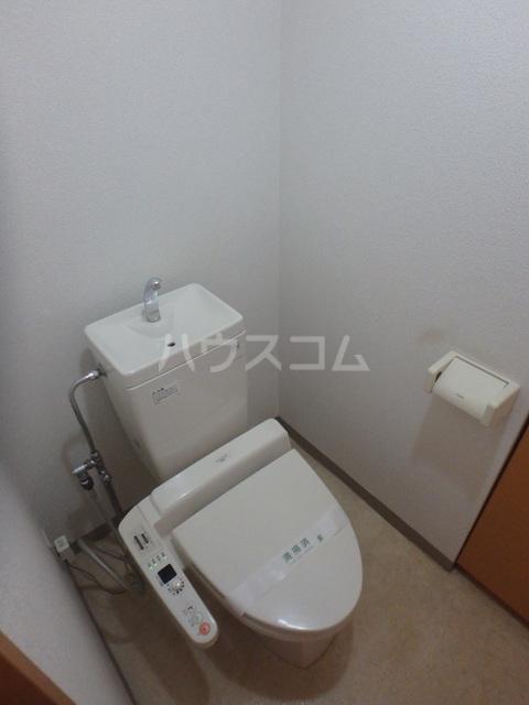 ウィステリアコート 301号室の洗面所