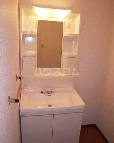 コーポM&I 202号室の洗面所