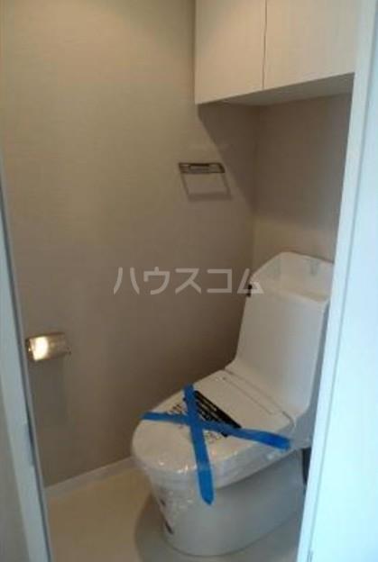 ソラーニ目黒不動前 201号室のトイレ