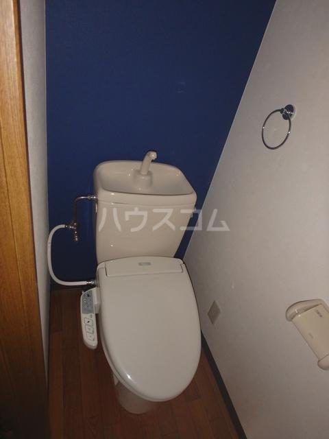 ロズマン・ジュネス 206号室のトイレ