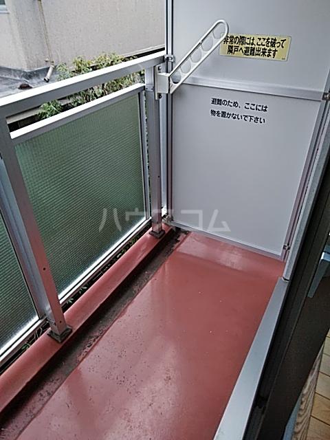 Alta Todoroki 202号室のバルコニー