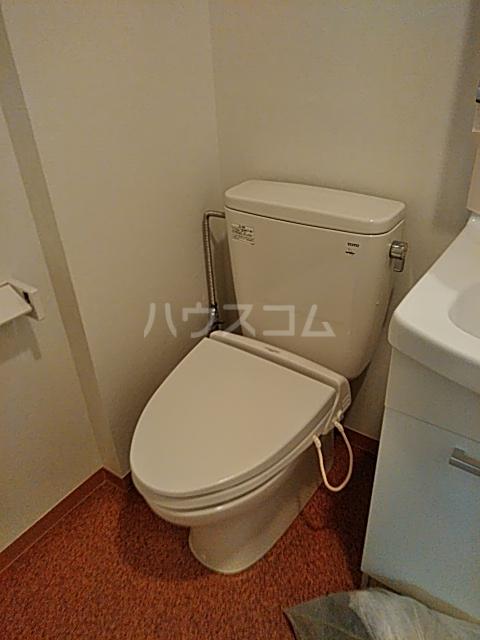 Alta Todoroki 202号室のトイレ