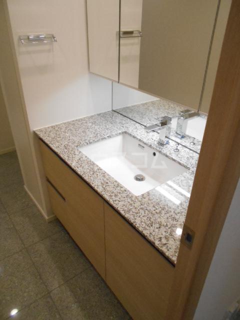 パークシティ武蔵小杉 ザガーデンタワーズ 4909号室の洗面所