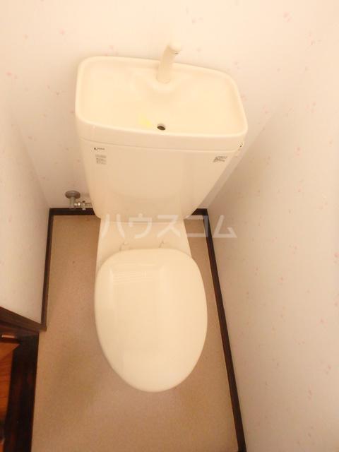 総社町都丸貸住宅Bのトイレ