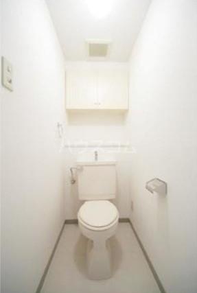 第2ヒラソル上野毛 201号室のトイレ
