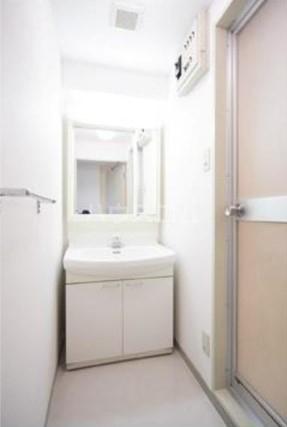 第2ヒラソル上野毛 201号室の洗面所