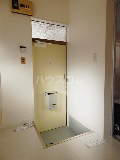 サンライズ 201号室の玄関