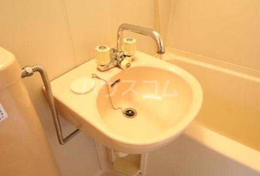 小池ハイツ 201号室の洗面所
