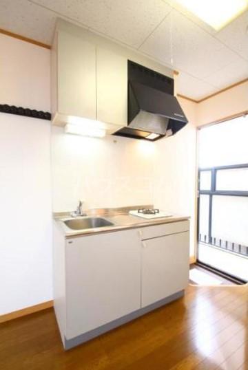 小池ハイツ 201号室のキッチン