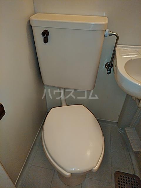 コーポマリーナ上野毛 101号室のトイレ