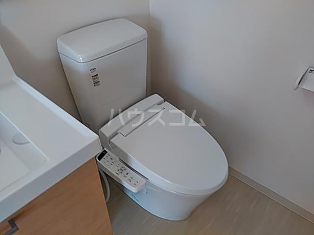 ウイン自由が丘 402号室のトイレ