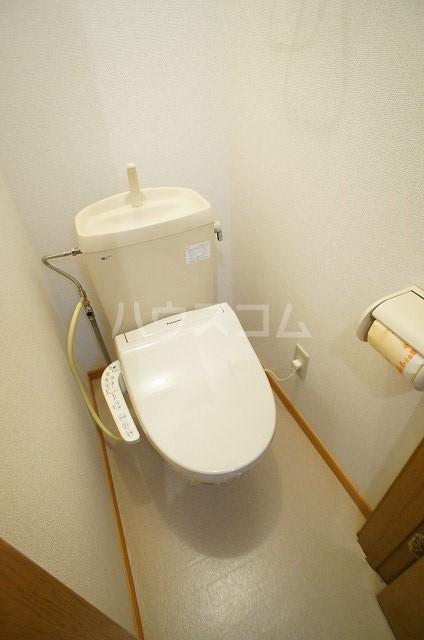パークウッドB 01040号室のトイレ