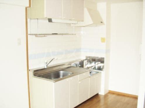 グランドゥールH 03040号室のキッチン