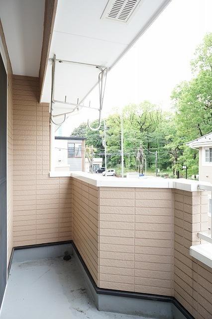 ファインモルティB 02010号室の景色