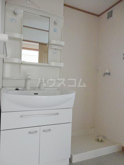 アザレアⅡ 02040号室の洗面所