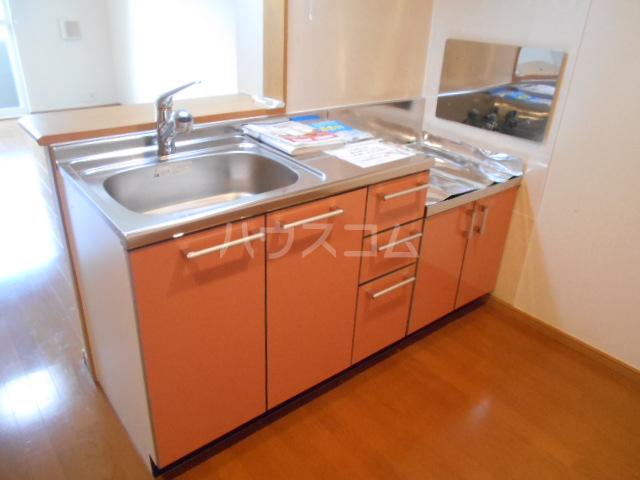 アルカディアⅡ 01030号室のキッチン
