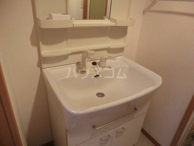 メゾン・ド・アルカンシェル 02040号室の洗面所