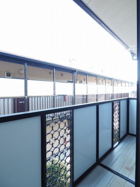 セカンドコアラ 02010号室のバルコニー