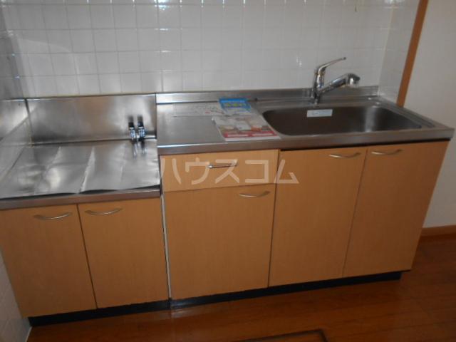 ジェルメ 01020号室のキッチン