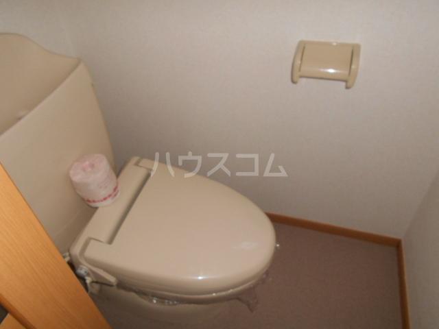ジェルメ 01020号室のトイレ