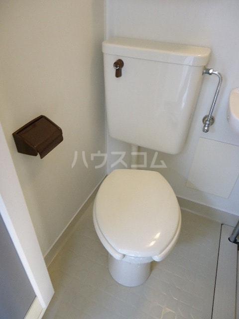 コ-ポユリ 01010号室のトイレ