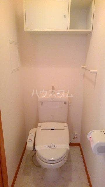 コンフォート スクエア B 02020号室のトイレ