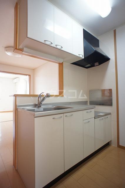 ラヴェンデル ツヴァイ 01030号室のキッチン