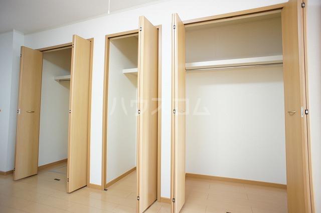 ラヴェンデル ツヴァイ 01030号室の収納