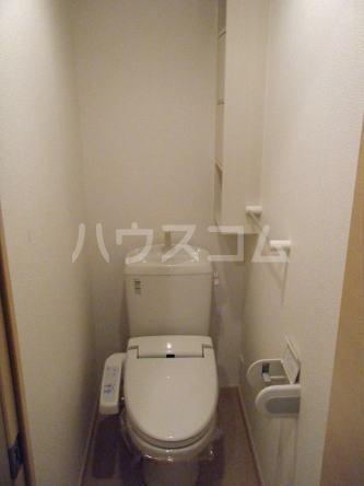 Tクレスト 01070号室のトイレ