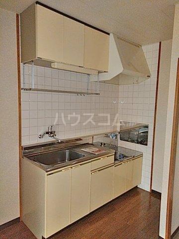 インフィールド春日部A 02020号室のキッチン