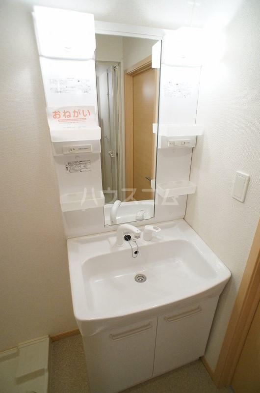 アルデンヌC 02010号室の洗面所