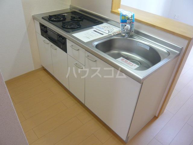 コンビ・ビアリテ 01020号室のキッチン