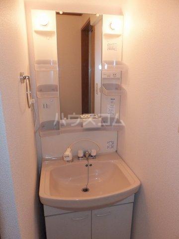 リバーパーク弐番館 02020号室の洗面所