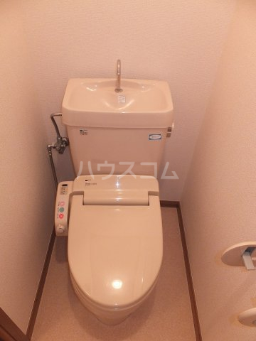 リバーパーク弐番館 02020号室のトイレ